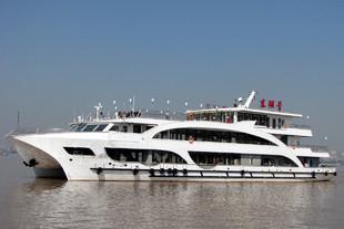 南华船舶武汉轮渡300客双体豪华游轮(东湖号)