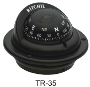 磁罗经(Ritchie TR-35 57mm Black)